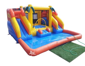 Doble mini combo con piscina